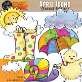 April Clip Art {Second Edition}