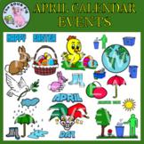 April Clipart - Celebrate Events