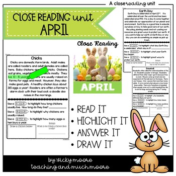 April Close Reading
