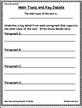 April Close Reading - 3rd-6th Grade Text Passages and Graphic Organizers