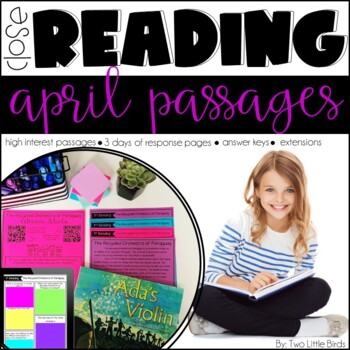 Close Reading Passages & Activities for April