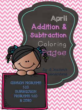 April Coloring Sheets