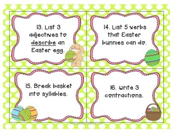 April Common Core Aligned ELA Centers for 2nd grade {7}