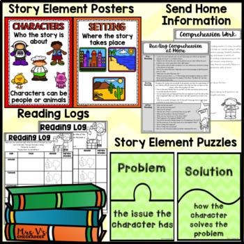 Kindergarten & First Grade Comprehension: APRIL