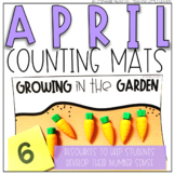 April Counting Mats (for Counting and Comparing)