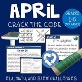 April Crack the Code (Grades 1-5)
