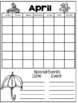 April Daily Calendar/Weather Activities...Math review and practice!