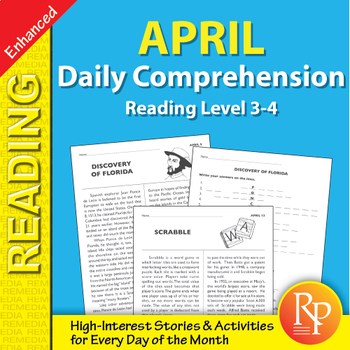 April: Daily Comprehension - Enhanced
