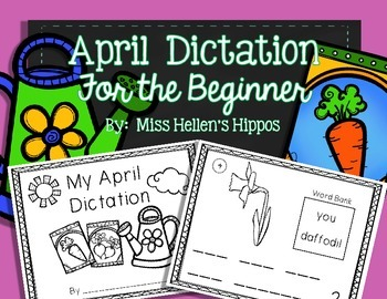 April Daily Dictation {For the Beginner}