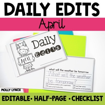 April Daily Edits