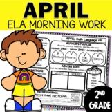 April Morning Work   2nd Grade Daily Language