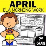 April Morning Work | 2nd Grade Daily Language