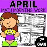April Morning Work 2nd Grade | Second Grade Morning Work | 2nd Grade Math Review
