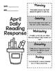 April Daily Reading Response