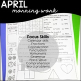 April- Daily Skills Practice / Morning Work Special Education
