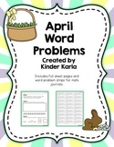 April Daily Word Problems
