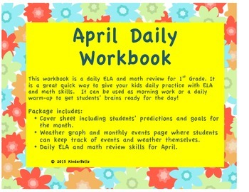April Daily Morning Work