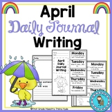 April Daily Quick Writes Writing Journal