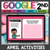 April Digital Activities for Google Classroom™ 2nd Grade