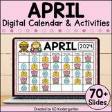 April Digital Calendar | Distance Learning