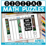 April Digital Math Puzzles