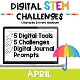April Digital STEM Challenges™