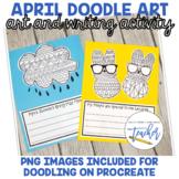 April Doodle Art