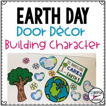 April Door Decor or Earth Day Bulletin Board