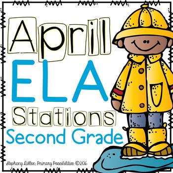 April ELA Stations for Second Grade