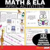 April ELA and Math Activities