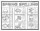 Spring Activities  ELA and Math Printables
