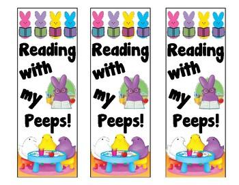 April/Easter Bookmark