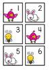 April (Easter) Calendar Pieces