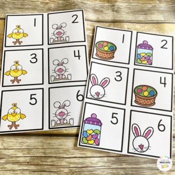 April (Easter) Calendar Cards