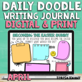 April Easter Daily Doodle Digital and Print Journal Prompts