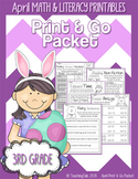 April (Easter) PRINT and GO Packet [3rd Grade]