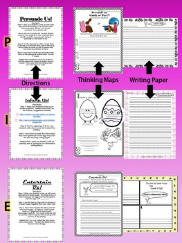 April Easter Writing Packet