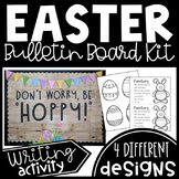 April (Easter-themed) Bulletin Board Kit or Door Decor with Writing Activity