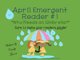 April Emergent Reader #1