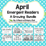 April Emergent Readers and Response Activities