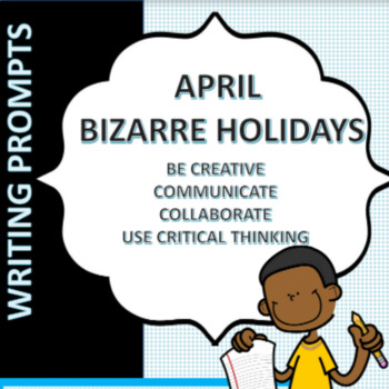 Daily Prompts for April Vocabulary and Writing