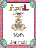 April Everyday Math Journals Printable
