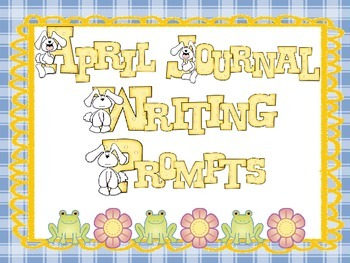 April Everyday Writing Journals PowerPoint
