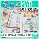April Fact Practice: Addition and Subtraction
