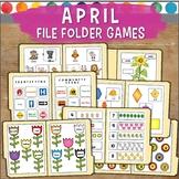 April File Folder Games