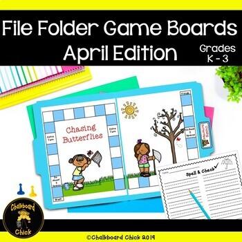 April File Folder Games Word Study Edition
