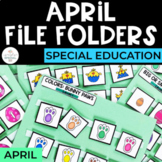 April File Folders for Special Education