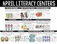 April First Grade Math & Literacy Centers