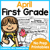 April First Grade Printables