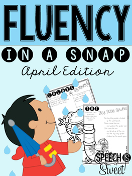 April: Fluency In a Snap {Stuttering}